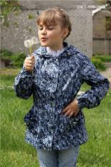 Children's DK1-006 windbreaker