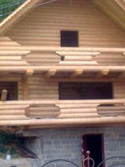 Блок-хаус из высококачественной древесины