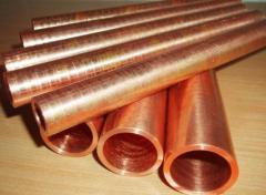 Copper pipes of Sq.m myag, 10 1 bay