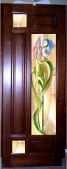 Doors are pine