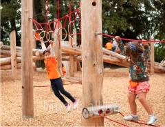 Children's rope platform