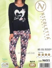 Пижама    женская     Nicoletta 96021