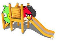 Игровой комплекс S, Angry Birds