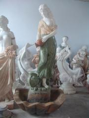 I will sell the marble Sevastopol fountain