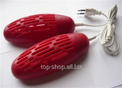 Electrodrying for footwear