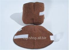 Kneecap from camel wool