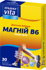 Диетическая добавка Магний B6 Макси Вита