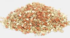 Fertilizer grade 15-15-15. Complex mineral