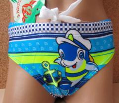 Плавки детские для мальчиков Дельфин. Опт и