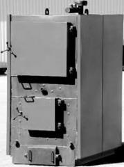 Твердотопливный котел Колві 100 А с ручной