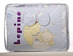 Set of children's bed linen of bepin