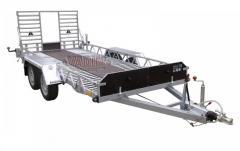 Прицеп для перевозки мини тракторов, снегохода или