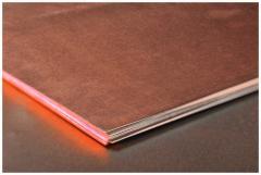 Plate copper M3 = 26-150