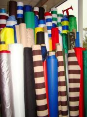 Ent fabric for tailoring of tents, canopies and