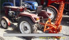 The mower (kosarka) a tractor segmentna of KTP -