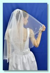 Wedding Branch flounces Veil.