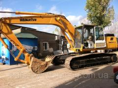 The excavator is caterpillar, the special