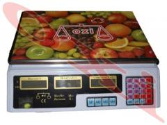 OXI scales trade electronic 35 kg