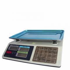 Весы Wimpex торговые электронные 50 кг клавиши