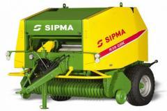 Рулонный пресс SIPMA PS 1210 CLASSIC в Украине