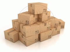Packing cardboard box