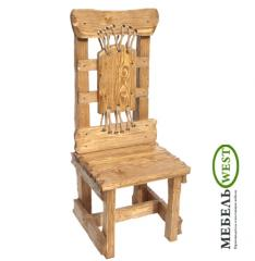 "Semi-antique chairs, Chair ""Athlete"