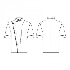 Overalls for the staff of kitchen