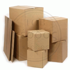 Boxes for bread from a corrugated cardboard