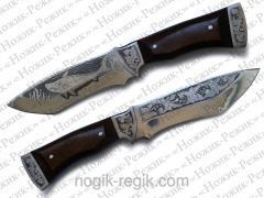 """Нож """"Акула"""" для рыбака ручной работы"""
