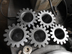 Machining, details from metal according to