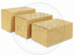 Boxes from the cardboard