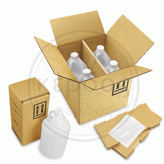 Packaging for household chemicals