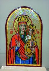 Icons from a mosaic tile