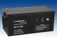 Акумуляторна батарея гелієва 200 а*година