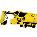 Bucket loader mine PKSh