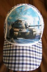 Детская кепка World of Tanks, детские кепки на