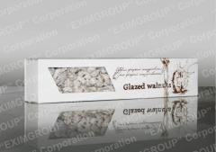 """""""Glazed walnut"""" in white chocolate"""