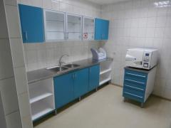 Furniture for an office of sterilizing processing