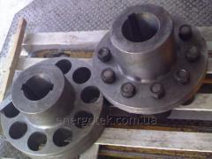 Coupling elastic vtulochno-manual (MUVP coupling)
