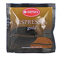 Кава Gemini Espresso Gold у чалдах, 1 уп. (150 шт)