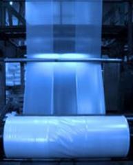 Polyethylene sleeve faltsovanny