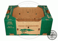 Environmentally friendly packing from a corrugated
