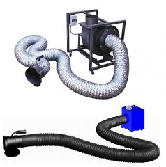 UPVU universal mobile ventilating installation