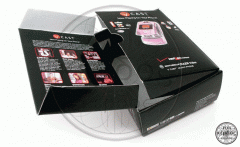 Corrugated packaging for mobile phones