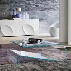 Glass furniture from Italy