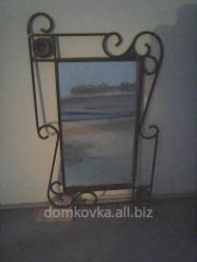 Кованые рамки для зеркала