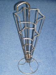 Кованые подставки под зонты