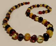 Beads is amber. Pebble color code 46