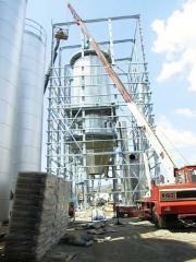 Модернизация башенных распылительных сушилок