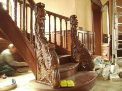 Woodcarving, modeling, interior design